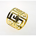 ieftine Inel de Șervețele-Stil European MetalPistol Rotund Inel de șervețele Decoratiuni de tabla 12 pcs