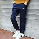 tanie Kurtki i płaszcze dla chłopców-Dzieci Dla chłopców Aktywny Solidne kolory / Prosty Bawełna Spodnie