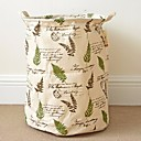 זול כביסה-עץ לוח פלסטיק עגול רב שימושי בית אִרגוּן, 1pc תיק וסל כביסה