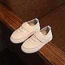 זול נעלי ילדים-בנים / בנות נעליים דמוי עור אביב נוחות נעלי ספורט ל לבן / שחור / צהוב