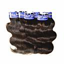 זול שזירה Remy  משיער אנושי-שיער בתולי Body Wave שיער פרואני 300 g 12 חודשים יומי