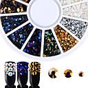 tanie Kryształ górski&Dekoracje-Biżuteria do paznokci / Nail Glitter Nail Art Design Luksusowy / Akcesoria / Modny Codzienny