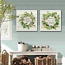 ieftine Acțibilde de Perete-Cuvinte & Citate Floral/Botanic Ilustrație Wall Art,PVC Material cu Frame For Pagina de decorare cadru Art Sufragerie Dormitor Bucătărie