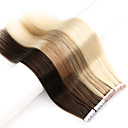 cheap Tape in Hair Extensions-20 10pcs new fashion mini tape in human hair extensions 100 remy pu skin weft