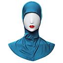 זול תלבושות אתניות ותרבותיות-תחפושות מצריות חיג'אב בגדי ריקוד נשים פסטיבל / חג תחפושות ליל כל הקדושים בז' סגול ירוק כחול ירוק כהה אחיד