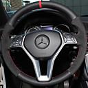 """זול שטיחים לפנים הרכב-כיסויים להגה עור אמיתי 38ס""""מ Mercedes-Benz E Class / כיתה / B200 כל השנים"""