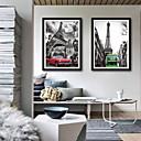 olcso Falmatricák-Építészet Szállítás Illusztráció Wall Art,PVC Anyag a Frame For lakberendezési frame Art Nappali szoba Hálószoba Konyha Étkező