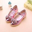 preiswerte Bohemian Bettbezüge-Mädchen Schuhe PU Frühling Komfort / Schuhe für das Blumenmädchen Flache Schuhe für Gold / Silber / Rosa