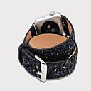 billige Smartklokke Tilbehør-Klokkerem til Apple Watch Series 4/3/2/1 Apple Moderne spenne Ekte lær Håndleddsrem