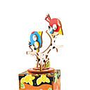 baratos Blocos de Montar-Quebra-Cabeças de Madeira Animal Clássico Desenho Interação pai-filho Fabricado à Mão Requintado Crianças Adulto Dom Para Meninos