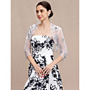 cheap Jewelry Sets-3/4 Length Sleeve Tulle Wedding / Party / Evening Women's Wrap With Sequin Shrugs