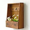 זול מדבקות קיר-1pc עץ / במבוק רגיל ל קישוט הבית, שרוול מתנות