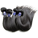 cheap Unprocessed Hair-Virgin Human Hair Remy Weaves Straight / Classic Peruvian Hair 400 g 1 Year / 12 Months Daily