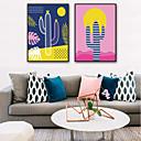 tanie Fresk-Oprawione płótno / Zestaw w oprawie - Krajobraz / Kwiatowy / Roślinny PVC Ilustracja