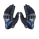 levne Motocyklové rukavice-su0my su-10 motocyklové rukavice odolné proti prokluzu plného prstu nylonového materiálu