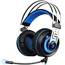 זול מקרנים-SADES A7-3 רצועת ראש חוטי אוזניות דִינָמִי פלסטי גיימינג אֹזְנִיָה עם מיקרופון אוזניות