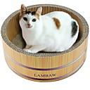 זול חול מתגבש לחתולים & מפה לגירוד-חתולים מיטות אומנות גירוד נייר ויצירה בנייר חיות מחמד ליינרים אחיד יצירתי מאמן מקל מתחים עמיד חום עבור חיות מחמד