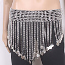 cheap Dance Accessories-Belly Dance Ordinary Women's Training Polyester Belt Hip Scarf
