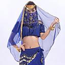 זול תלבושות אתניות ותרבותיות-ריקוד בטן רגיל בגדי ריקוד נשים הדרכה טול MiniSpot רעלה