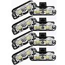 abordables Intermitentes para Coche-Bombillas 16W LED de Alto Rendimiento 16 Luces LED parpadeantes For Universal Todos los modelos Todos los Años