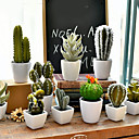 billige Kunstige planter-Kunstige blomster 1 Gren Moderne Stil Planter Bordblomst