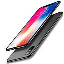 זול מגנים לטלפון & מגני מסך-מגן עבור Apple iPhone X עמיד בזעזועים אולטרה דק צבע אחיד רך ל