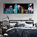 olcso Falmatricák-Landscape Virágos / Botanikus Illusztráció Wall Art,Műanyag Anyag a Frame For lakberendezési frame Art Nappali szoba
