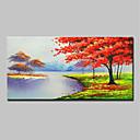 זול ציורי פרחים/צמחייה-mintura ® צבוע ביד ציור שמן ציור על בד מודרני מופשט אמנות קיר תמונות לקישוט הבית מוכן לתלות