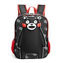 זול Elementary Backpacks-יוניסקס שקיות פּוֹלִיאֶסטֶר תרמיל דוגמא \ הדפס / רוכסן שחור