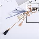 זול מזכרות מחזיקי מפתחות-חתונה / חברים / יומהולדת מצדדים במחזיק מפתחות סגסוגת מזכרות מחזיקי מפתחות - 1 pcs כל העונות