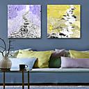 رخيصةأون أغطية مخدات-مطبوعات قماش رغم الضغوط الحديث, لوحاتان كنفا مربع الطباعة جدار ديكور تصميم ديكور المنزل