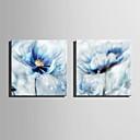 baratos Impressões-Estampados de Lonas Esticada Modern, 2 Painéis Tela de pintura Quadrada Estampado Decoração de Parede Decoração para casa