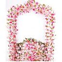 זול פרחים מלאכותיים-פרחים מלאכותיים 2 ענף פסטורלי סגנון סאקורה פרחים לקיר