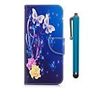 זול מגנים לטלפון & מגני מסך-מגן עבור Xiaomi Redmi 5 Plus הערה 5 א מחזיק כרטיסים ארנק עם מעמד נפתח-נסגר מגנטי כיסוי מלא פרפר קשיח עור PU ל Redmi Note 5A Xiaomi Redmi