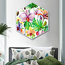 cheap Prints-Botanical Floral/Botanical Illustration Wall Art,Plastic Material With Frame For Home Decoration Frame Art Living Room