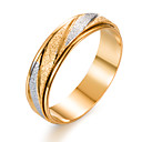 cheap Men's Athletic Shoes-Men's Band Ring - Gold Plated Fashion 7 / 8 / 9 Gold For Gift / Valentine