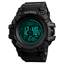 cheap Running Hats, Socks & Arm Warmers-SKMEI Men's Sport Watch Military Watch Unique Creative Watch Japanese Digital 50 m Chronograph Thermometer Compass PU Band Digital Luxury Fashion Black / Green - Black / Red Blue / Black Green One