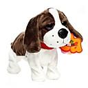 baratos Animais de Pelúcia-Electronic Pets Sound Control Robot Dogs Cachorros Animais de Pelúcia Adorável Requintado Para Meninas Brinquedos Dom