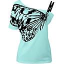 olcso Női szandálok-Szabadság Aszimmetrikus Női Póló
