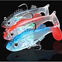 cheap Fishing Lures & Flies-3 pcs Fishing Lures Shad Sea Fishing / Fly Fishing / Bait Casting / Ice Fishing / Spinning / Jigging Fishing / Freshwater Fishing / Carp Fishing