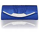 cheap Clutches & Evening Bags-Women's Bags Silk Clutch Ruffles / Tassel / Tiered Geometric White / Black / Silver