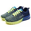 זול סניקרס לגברים-בגדי ריקוד גברים טול אביב / סתיו נוחות נעלי אתלטיקה ריצה כחול בהיר / ירוק בהיר