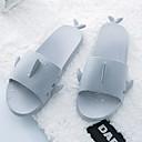 tanie Pantofle-Pantofle męskie Pantofle Paski / zmarszczki / Zwyczajny Skóra PVC Jeden kolor