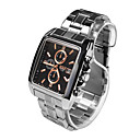 cheap Sport Watches-Men's Sport Watch Casual Watch Stainless Steel Band Casual / Fashion Silver