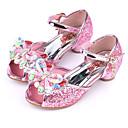 baratos Sapatos de Menina-Para Meninas Sapatos Glitter Verão Conforto / Inovador / Sapatos para Daminhas de Honra Sandálias Pedrarias / Laço / Presilha para