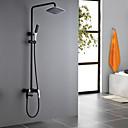זול שרשרת אופנתית-ברז למקלחת - עתיקה צביעה מערכת למקלחת שסתום קרמי