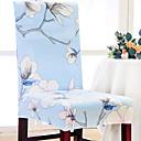 tanie Pantofle-Współczesny Tkana Jacquard Pokrywa Chair, Prosty Wygodne Kwiaty Reactive Drukuj slipcovers