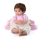 זול בובות-NPK DOLL בובה מחדש תינוקות בנות 18אִינְטשׁ סיליקון / ויניל - כְּמוֹ בַּחַיִים, ריסים ידניים, ציפורניים אטומות וחותמות יוניסקס הילד של