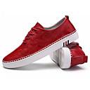 זול נעלי אוקספורד לנשים-בגדי ריקוד גברים אור סוליות PU אביב / סתיו נעלי ספורט שחור / אדום / חאקי