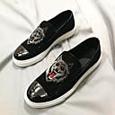 זול נעלי ספורט לגברים-בגדי ריקוד גברים עדרים חורף נוחות נעליים ללא שרוכים שחור